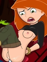 Kim Possible making dick friction